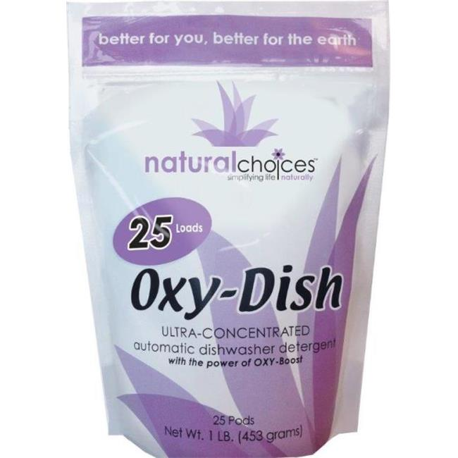Natural Choices Oxy-Dish Dishwasher Detergent Pods 1 lbs.