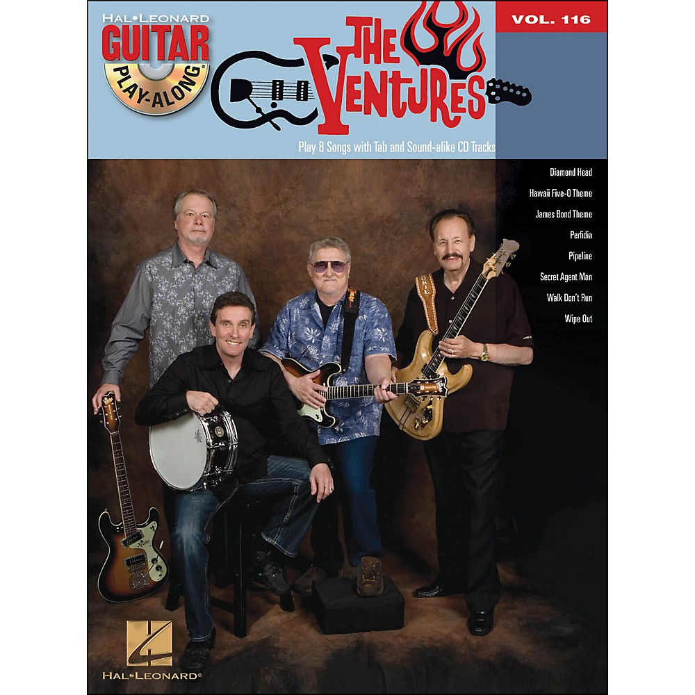 Hal Leonard The Ventures - Guitar Play-Along Volume 116 Book/CD
