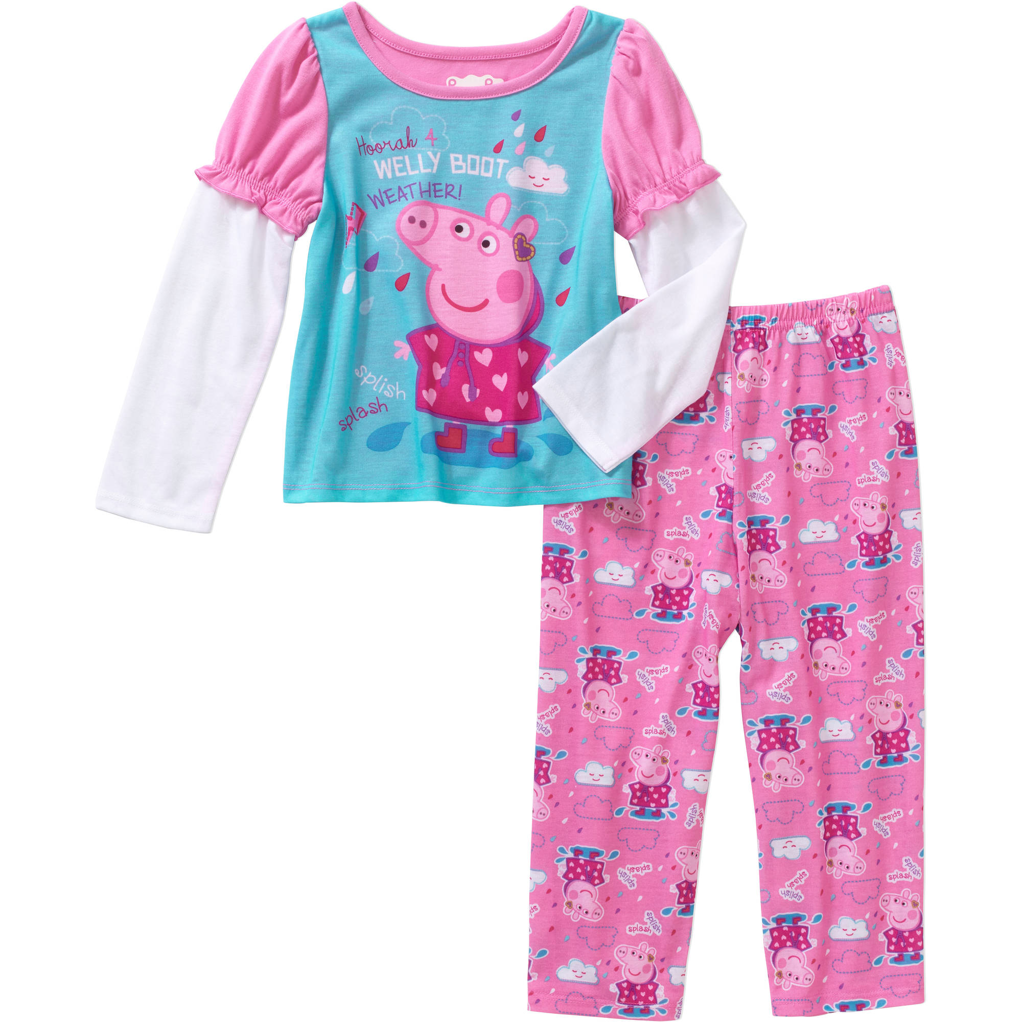 Toddler Girl Pajamas 2pc Set