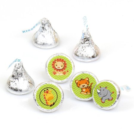 Funfari - Fun Safari Jungle - Stickers - Fit Hershey's Kisses (108 ct)