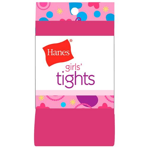Hanes Girls Tights L Beetroot