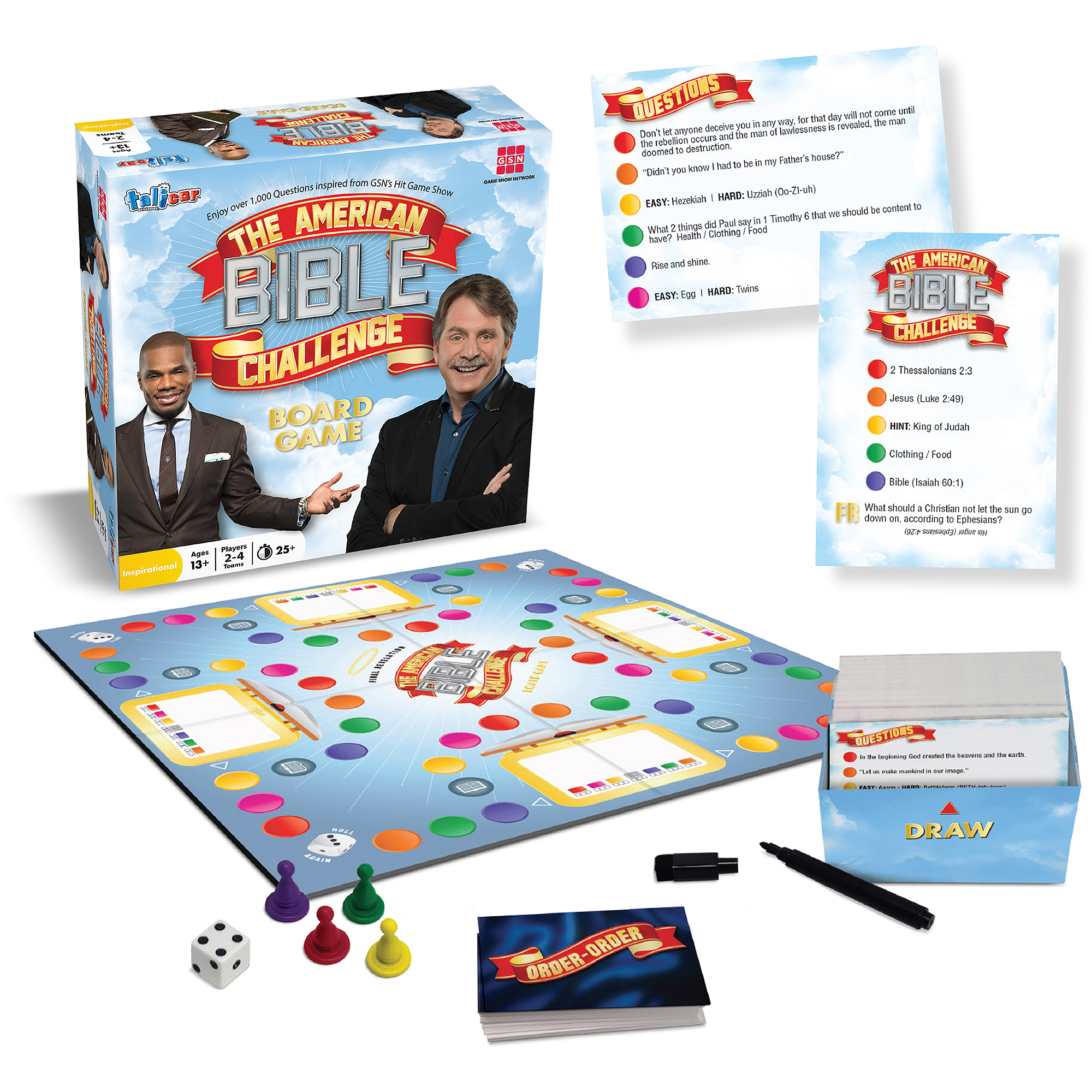 The American Bible Challenge Board Game