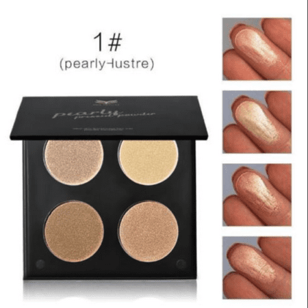 Highlighter Face Powder Contour Kit Concealer Palette Bronzer Makeup Tool Party