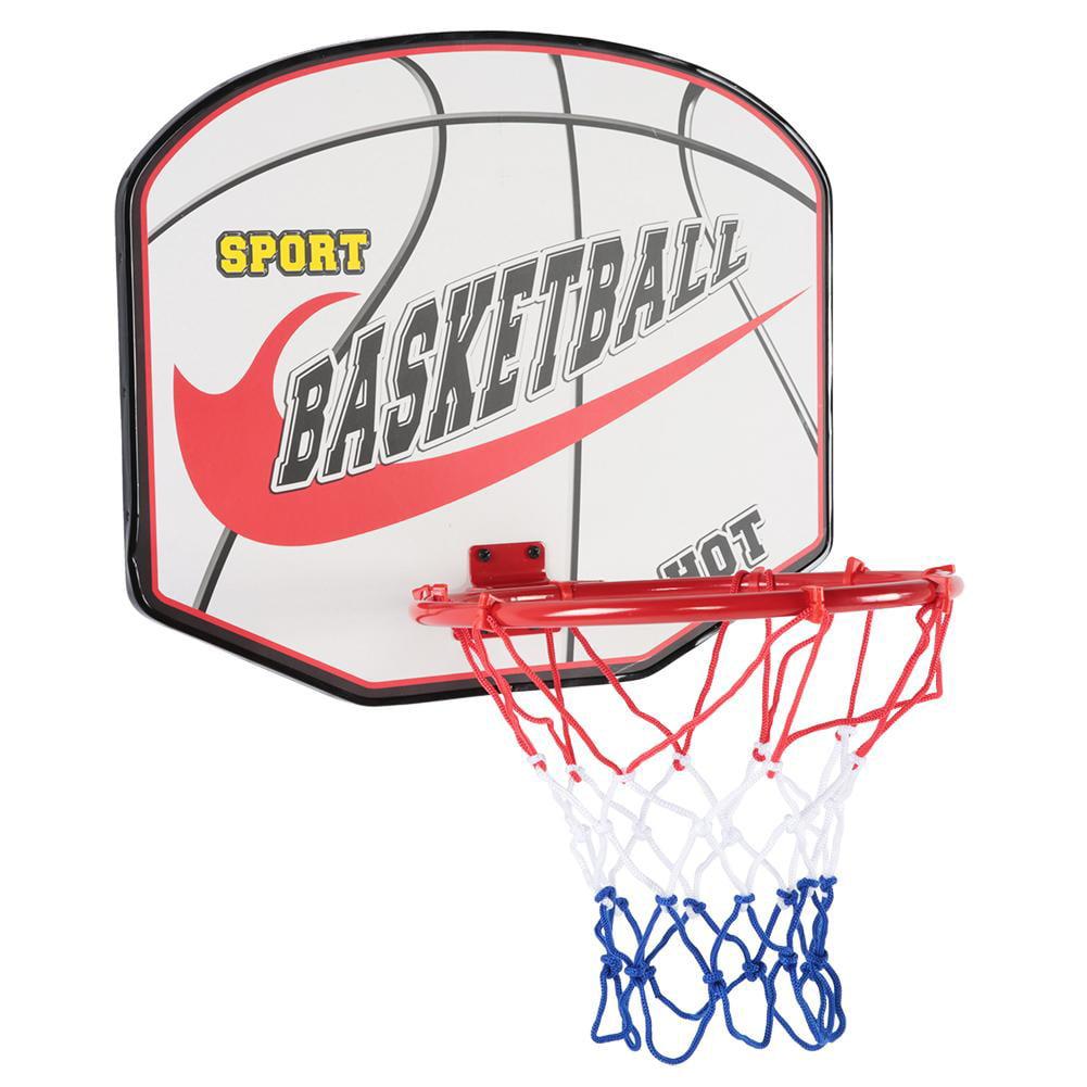 Indoor Mini Basketball Hoop Ring Backboards Kit Door Wall Mounted Kids Toys Gift