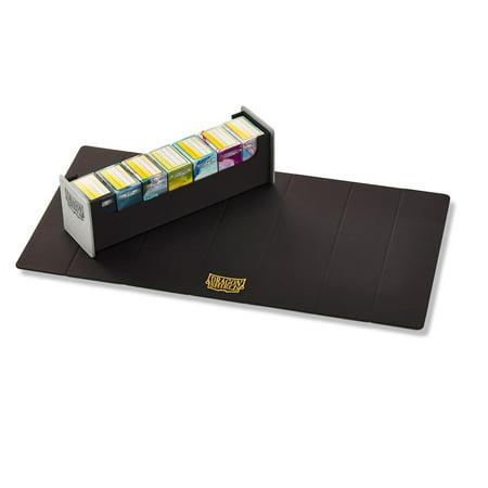 Arcane Tinmen ATM40301 Dragon Shield, 500 Magic Carpet Storage Box - Grey & Black