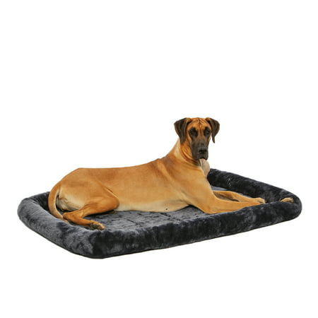 Midwest Quiet Time Pet Bed Amp Dog Crate Mat Gray 54