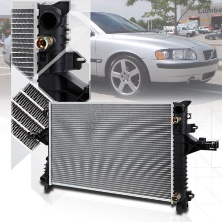 Aluminum Core Radiator OE Replacement for 99-09 Volvo S60/S80/V70/XC70 AT 2805 00 01 02 03 04 05 06 07 - Volvo S40 Car Radiator