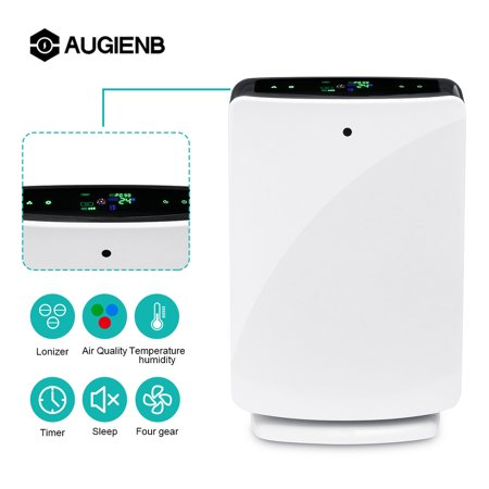 Air Purifier Augienb 5 Stage True Hepa Filter Ionic
