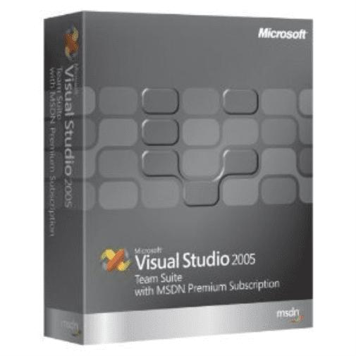 Microsoft Visual Studio Team Suite 2005 with MSDN Premium...