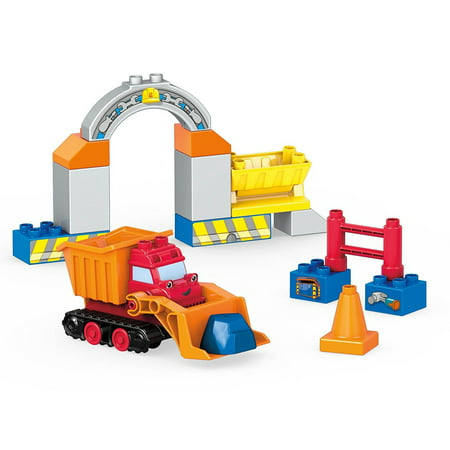 Mega Bloks Mattel Mega Bloks Bon the Builder Mucks Rock Drop Set Novelty Character Collectibles