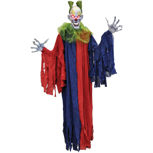 "60"" Hanging Evil Halloween Clown Halloween Accessory"