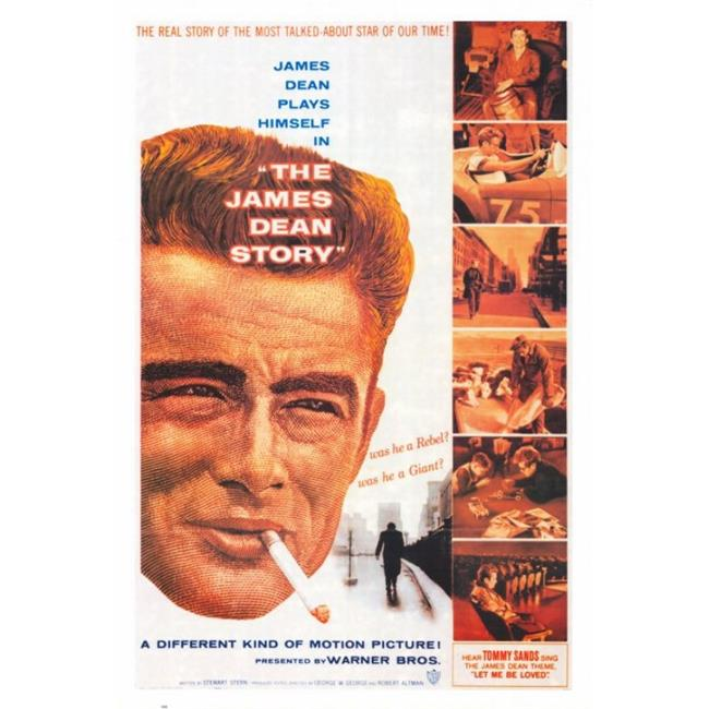 Posterazzi MOVGH3602 The James Dean Story Movie Poster - 27 x 40 in. - image 1 of 1