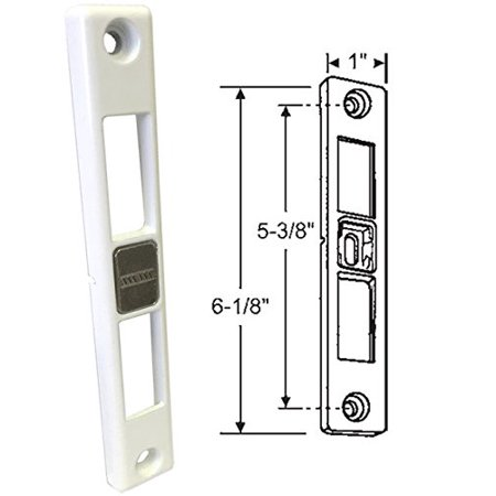 Patio Door Keeper For Dual Point Mortise Lock Works On Milgard