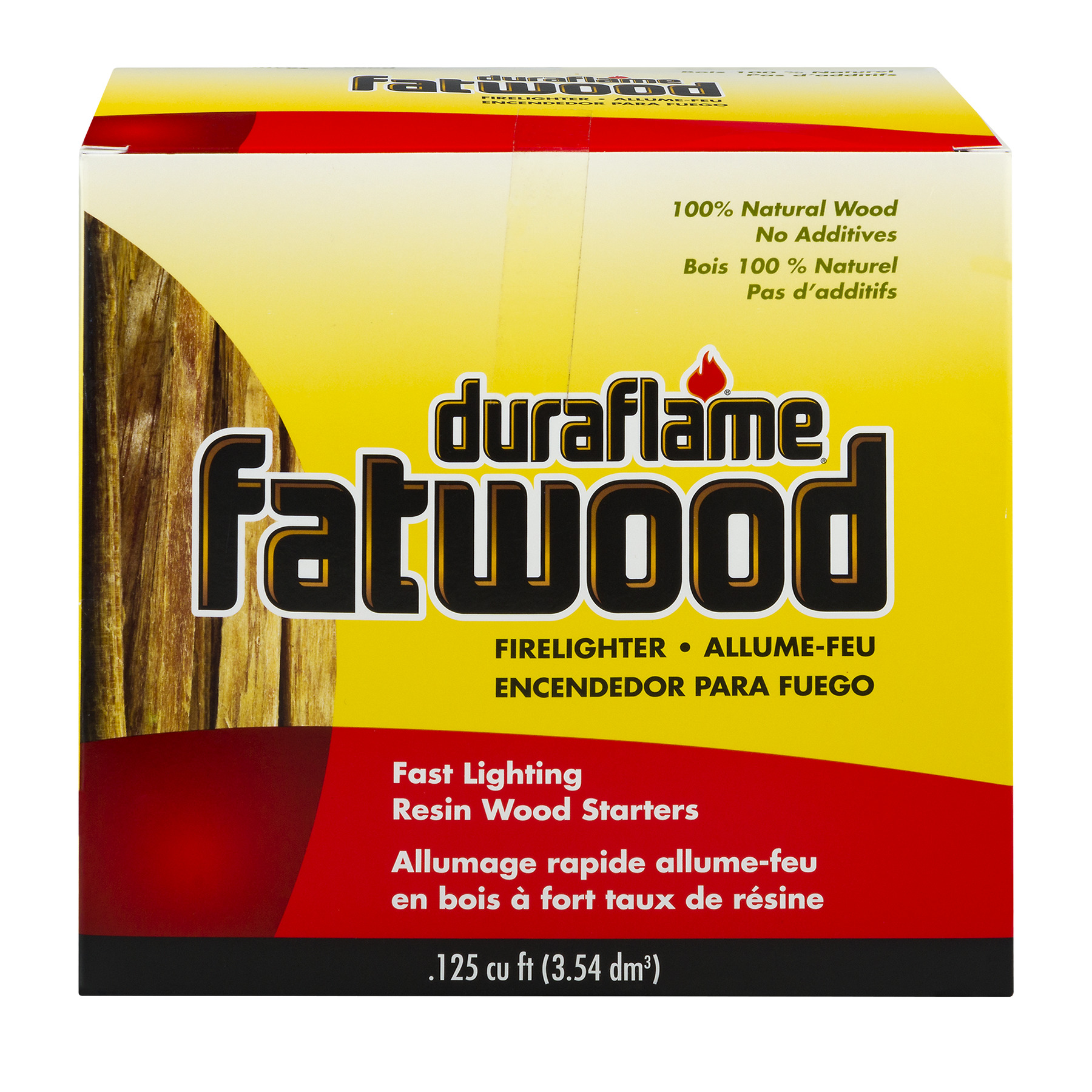 duraflame® fatwood Firelighters - .125 cu ft