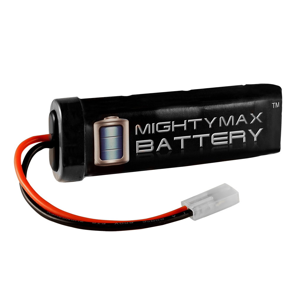 8.4V NiMH 1600mAh Mini Flat - AIRSOFT BATTERY  for M4 S Systems