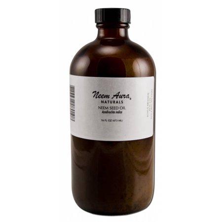Neem Aura Naturals - Neem Body Topical Oil, 16 - Neemaura Neem Seed Oil