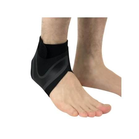 MarinaVida Adjustable Ankle Support Brace Foot Sprains Injury Pain Wrap Strap (Pain In Arch Of Foot After Sprained Ankle)