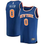 Kadeem Allen New York Knicks Fanatics Branded Fast Break Player Replica Jersey - Icon Edition - Blue