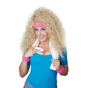 Lets Get Physical Wig Halloween Costume Accessory