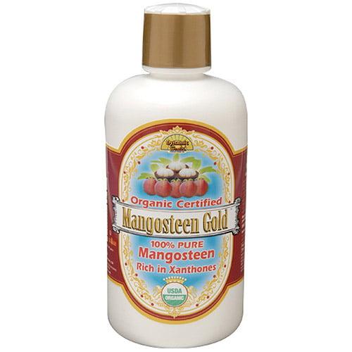 Dynamic Health Laboratories, Inc. Mangosteen Gold 100% Pure Mangosteen, 32 oz