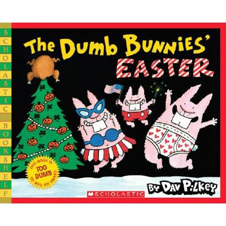 The Dumb Bunnies' Easter (Scholastic Bookshelf) - Easter Bunny Coloring Page