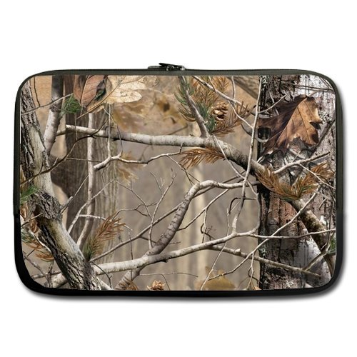 Camouflage Tree Laptop Bag - Hipster Camouflage Camo tree...