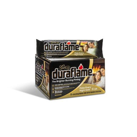 6-Pack Duraflame 4.5LB Gold Firelogs Only $13.88