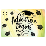 Adventure Begins Graduation Walmart eGift Card