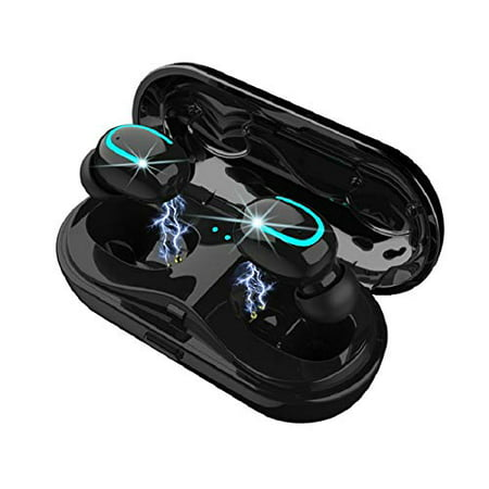 Best Wireless Earbuds for Jogging, Aerobic & Gym Activity, Best 5.0 Bluetooth Earbuds, Wireless Headphone, HBQ Brand V5.0,