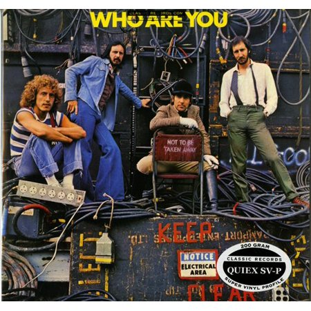 The Who Who Are You Quiex Sv P 200 Gram Vinyl Lp Reissue Record