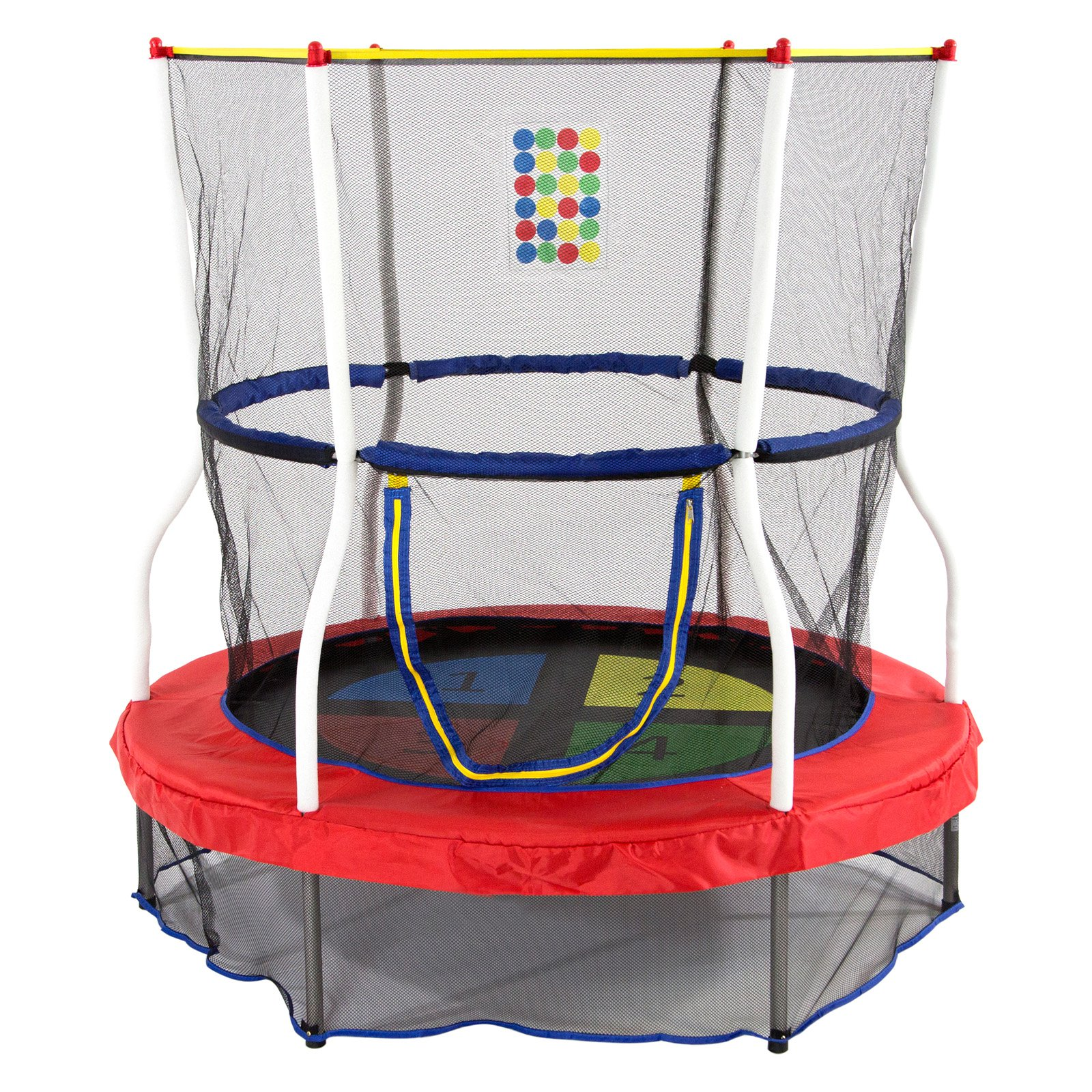 Skywalker 4.5 ft. Round Color and Counting Bouncer with Safety Enclosure