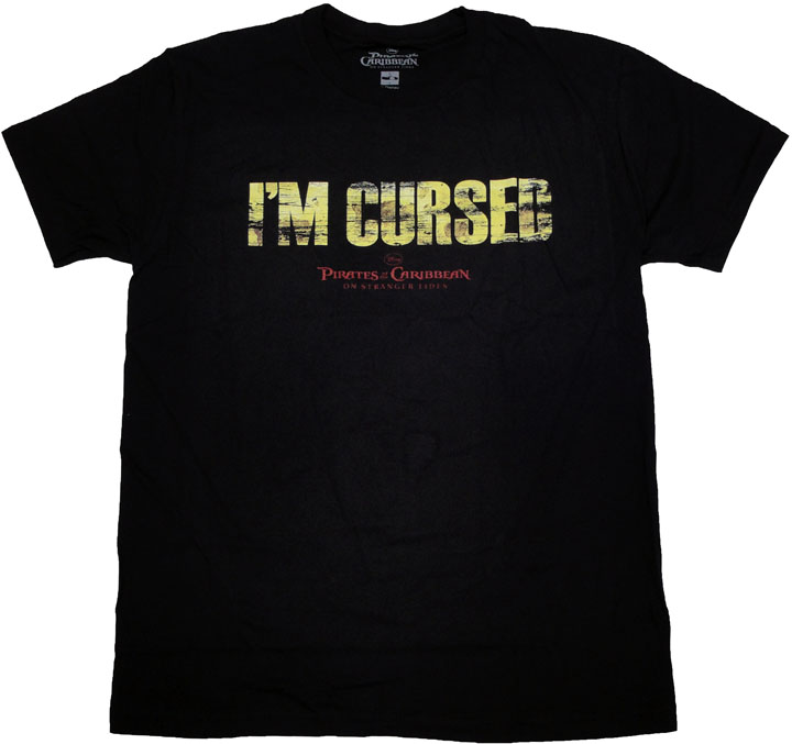 Pirates of the Caribbean Cursed T Shirt Sheer