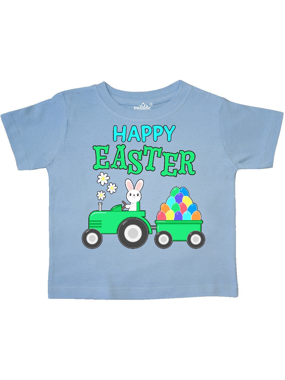 inktastic Happy Easter Grammas Little Chick Toddler Long Sleeve T-Shirt