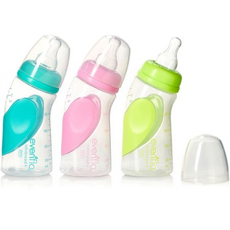 Evenflo Advanced Baby Bottle 6 Oz Plastic 1 Count
