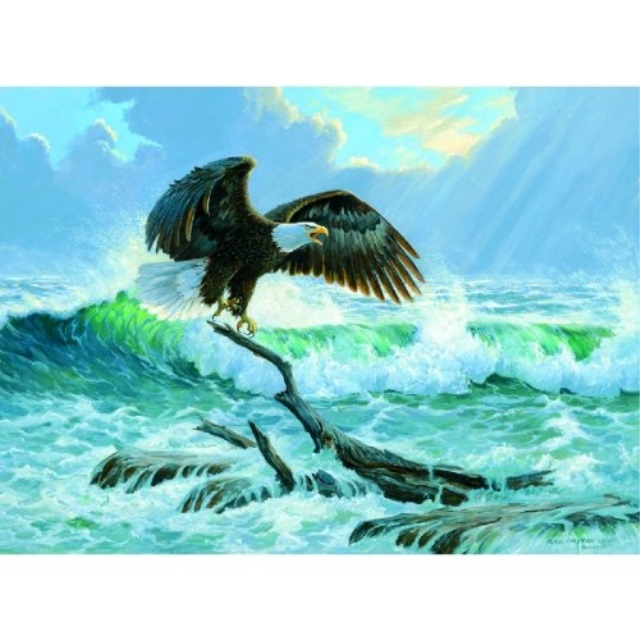 Claiming the Sea 1500pc Jigsaw Puzzle by Persis Clayton Weirs by