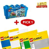 LEGO Masters: City Police Brick Box & Baseplate Bundle