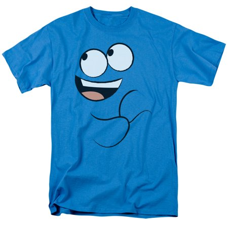 Fosters Home Of Imaginary Friends - Blue Smile - Short Sleeve Shirt - (Fosters Home For Imaginary Friends Character List)