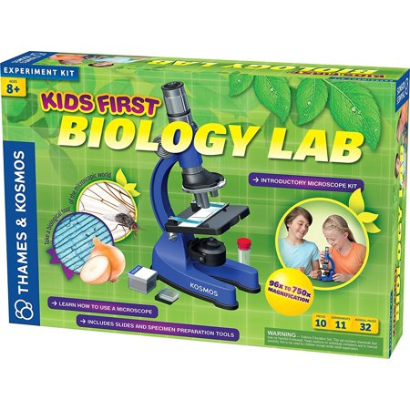 Science Kit For Girls, Kids First Biology Lab Microscope Experiment Science Kits