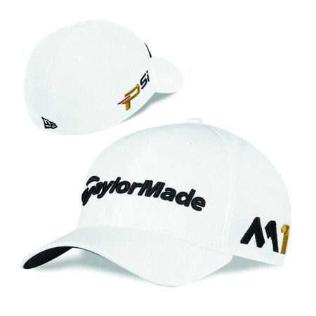 TaylorMade New Era Tour 39Thirty M1 TOUR EDITION Fitted Hat White XS S -  Walmart.com 79a888d8e7d