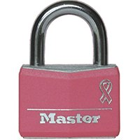 Master Lock Padlock 146D Covered Aluminum Lock, 1-9/16 in. Wide, Pink](Halloween Lock In)