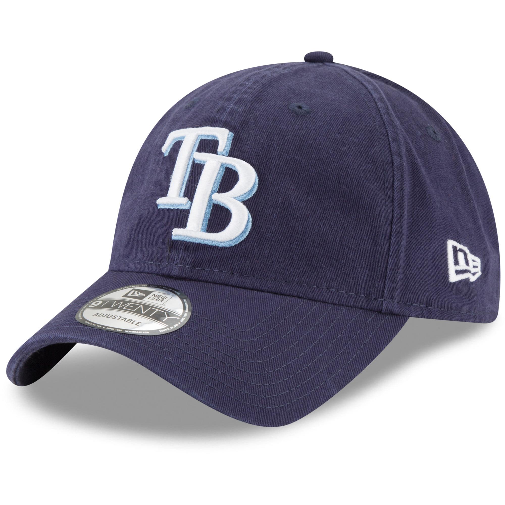 Tampa Bay Rays New Era Youth Core Classic Replica 9TWENTY Adjustable Hat - Navy - OSFA