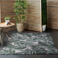 Better Homes & Gardens Palm/Diamond Reversible Outdoor Rug