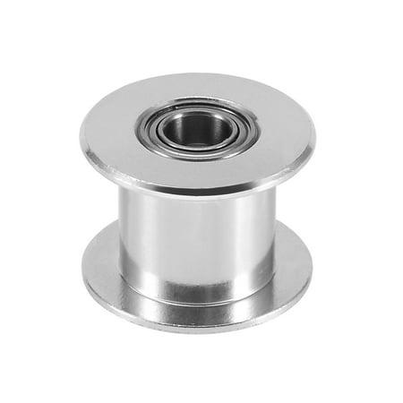Aluminum Idler Pulley GT2 for 10mm Wide Timing Belt 5mm Bore for 3D Printer