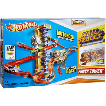 Hot Wheels Wall Tracks Power Tower Track Set Instructions Best