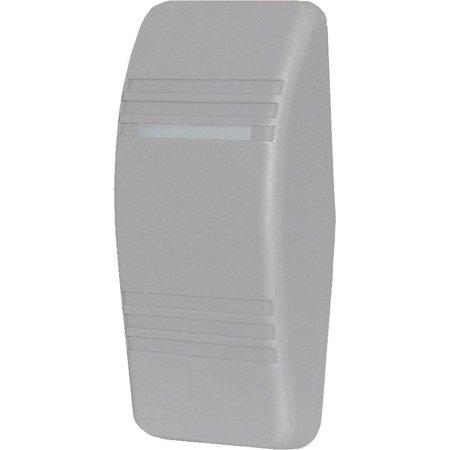 Contura Switch Actuator - Blue Sea 8298 Contura Switch Grey Actuator - Double Lens