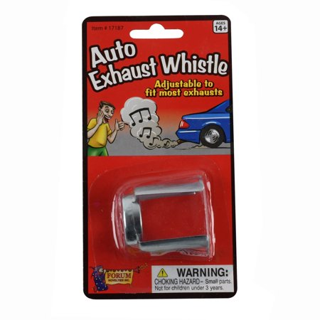 Exhaust Pipe Car (Funny Prank Car Exhaust Tail Pipe Whistle Practical Joke Auto Muffler Gag Gift)