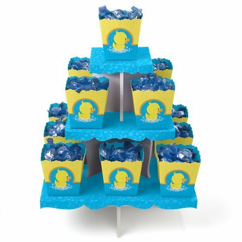 Ducky Duck - Candy Stand & 13 Party Candy Boxes