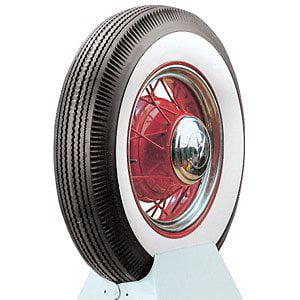 Coker Tire 65500 Coker Classic Wide Whitewall Bias Ply Tire
