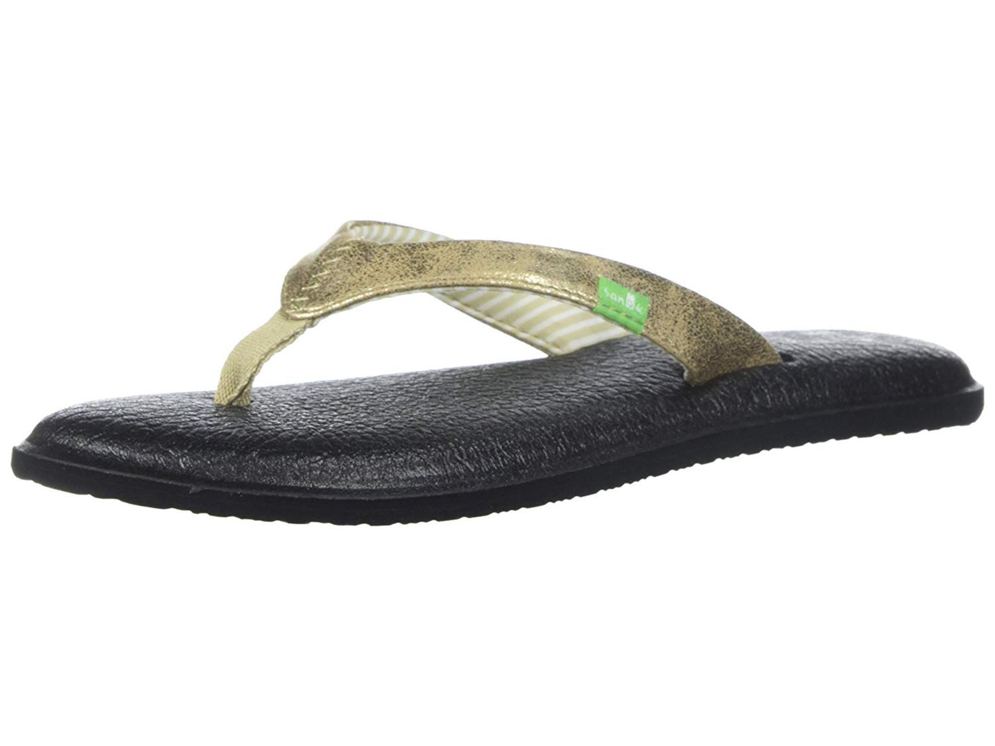 a272d28e38a Sanuk Yoga Chakra Metallic Flip-Flop