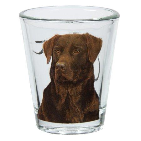 Labrador Retriever Portrait Shot Glass, Animal Inspired Clothing By Animal World - Halloween Inspired Shots
